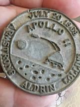 July 20 1969 Apollo 11 Armstrong Aldrin Collins Unique Token Souvenir - $100.00