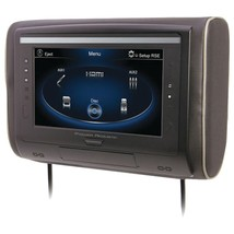 """Power Acoustik H-94 9"""" LCD Universal Headrest with IR and FM Transmitter... - £94.42 GBP"""