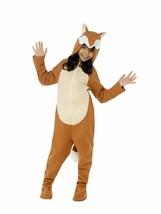 Smiffys Fox Tiere one piece Overall Kinder Unisex Halloween Kostüm 44074 - $25.02