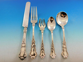 Baronial Old by Gorham Sterling Silver Flatware Set Service 62 pc Lion Dinner - $4,500.00