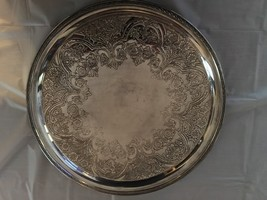 wilcox silver plate company 7563 serving tray/platter - $9.50