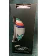 NEW! Starbucks Color Floral Summer Pride 2020 Hot Cups Reusable 6 Pack T... - $22.00