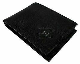 Tommy Hilfiger Men's Premium Leather Credit Card Wallet Slim Black 4707-01 image 3