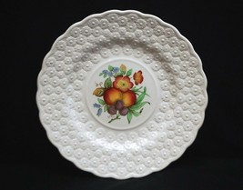 Old Vintage Alden by Spode Luncheon Plate #10 Ring Fruit Daisy Copeland England - $19.79