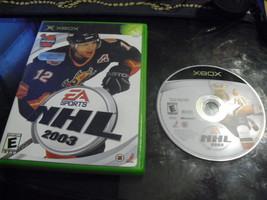 NHL 2003 (Microsoft Xbox, 2002) - $4.15