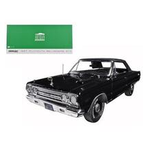 1967 Plymouth Belvedere GTX Convertible Black 1/18 Diecast Model Car by Greenlig - $93.09