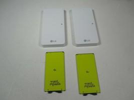 Lot of 2x LG BCK-5100 G5 Battery Charger and 2x BL-42D1F Batteries - $42.48