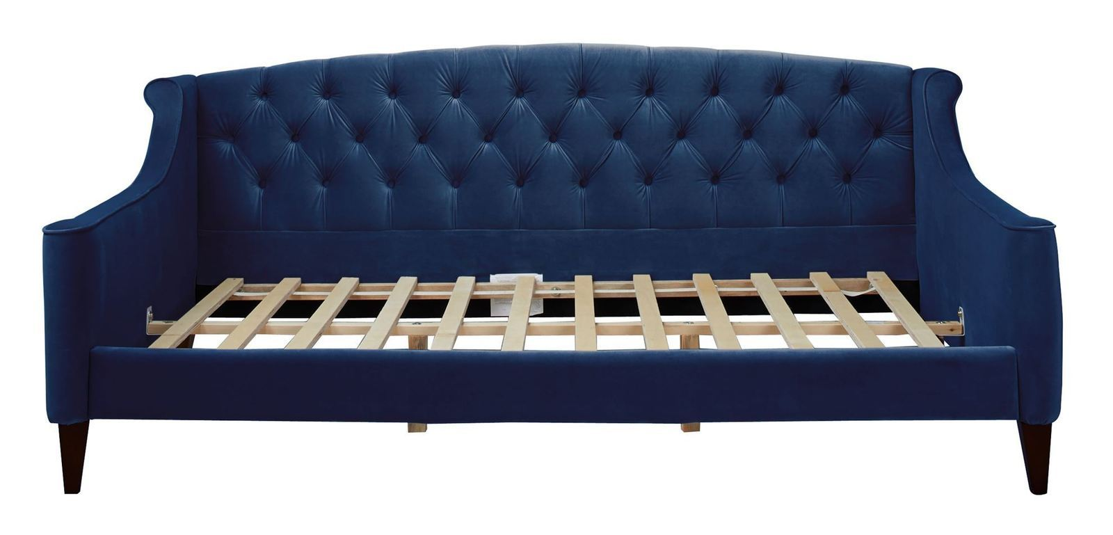Jennifer taylor home lucy sofa bed navy blue beds bed for Jennifer taylor sofa bed
