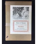 Henry Thoreau Illustrated Walden Photographs Gleason Collection Hard Cov... - $220.65