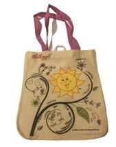 Kellogg's Reduce Reuse Recycle Plant Sunshine Tote Bag Shopping Bag Shou... - $9.49