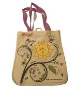 Kellogg's Reduce Reuse Recycle Plant Sunshine Tote Bag Shopping Bag Shou... - $9.49