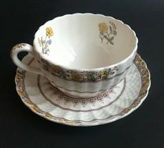 Copeland Spode Buttercup Pattern Tea Cup & Saucer Set - $12.86