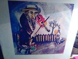 Chagall Print on Paper 8x10 - $24.00