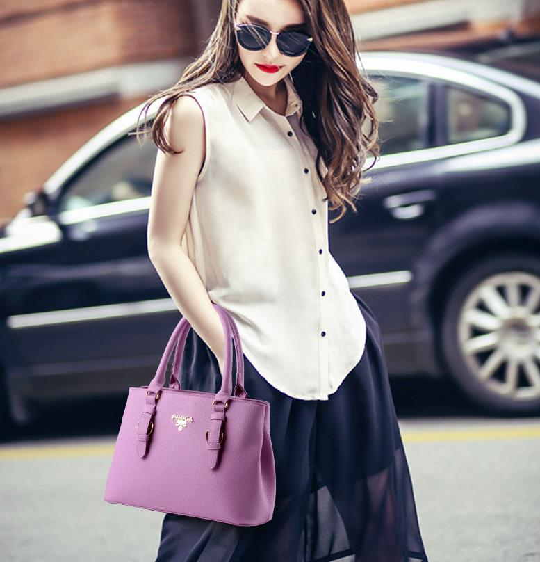 Free Shipping Women Leather Shoulder Bags Handbags Tote Bags M248-1