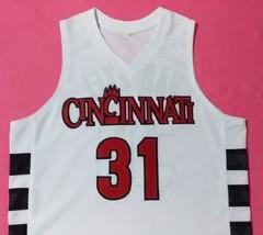 Nick VAN-EXEL Cincinnati Bearcats White College Jersey Any Size Free Wwjd Brclet - $29.99