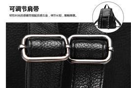 Women Leather Backpacks Students Large School Backpacks,Bookbags K249-1 image 3