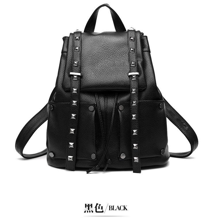 Women Leather Backpacks Students Large School Backpacks,Bookbags K249-1