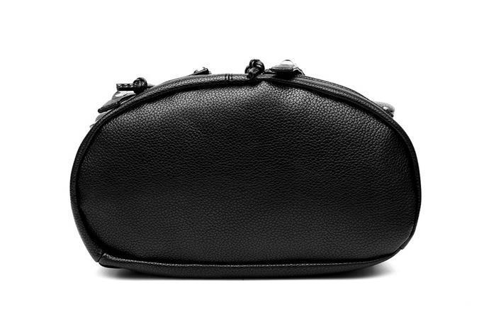 Women Leather Backpacks Students Large School Backpacks,Bookbags K249-1 image 13