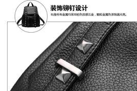 Women Leather Backpacks Students Large School Backpacks,Bookbags K249-1 image 14