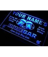 Personalized custom neon light sign with your name on top line  - $34.99
