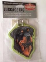 Rottweiler Dog Luggage Tag Baggage Identifier Vacation Westport New Chri... - $14.99