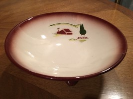 "Brock of California Pottery Harvest brown 6.5"" ... - $11.83"