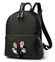 Unisex Nylon Students School Backpacks Large Cartoon Family Backpacks N2... - $37.99