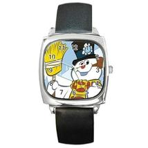 FROSTY THE SNOWMAN CHRISTMAS SILVER-TONE WATCH 8 OTHER STYLES SPORTS CHARM - $25.99