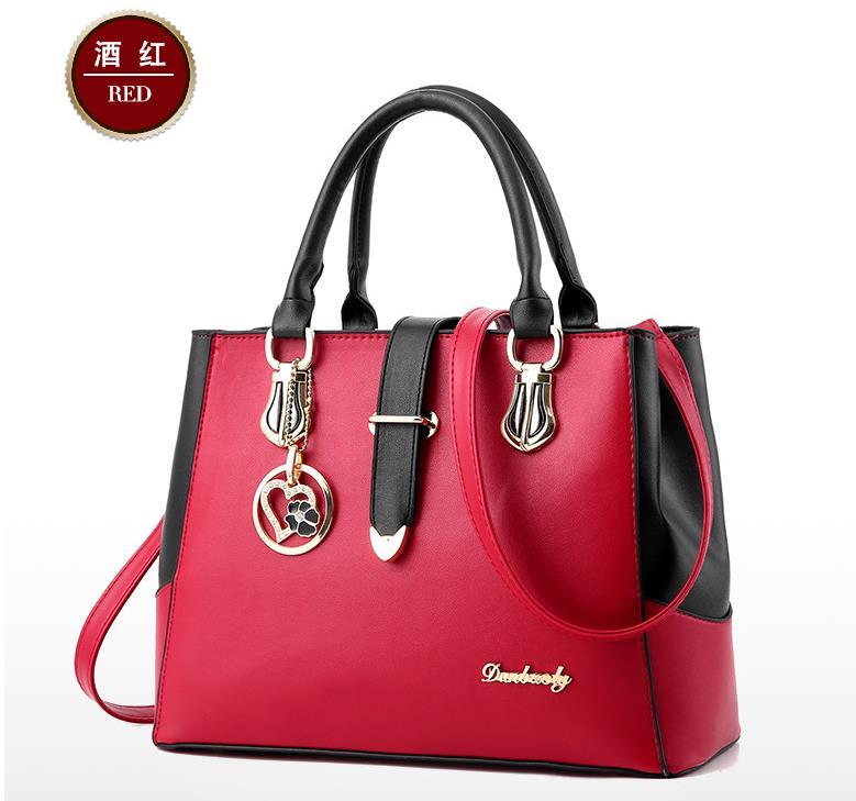 Hot New Leather Women Handbags Large Shoulder Bags Tote Bags,Purse K257-8
