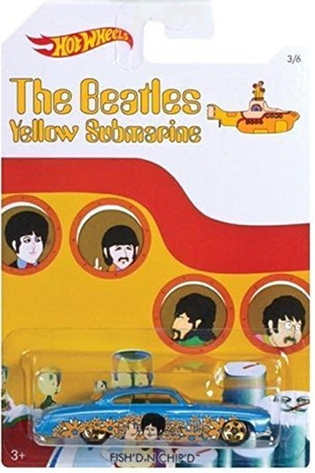 Beatles hot wheels paul mccartney 3 of 6