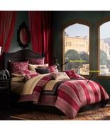 Artology Sari Mini Comforter Set -  Red and Gold - $199.99+