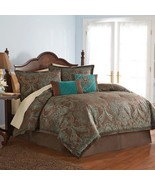 Avenue 8 Vogue Full Comforter Set - Teal - $175.00