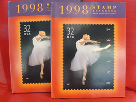 USPS 1998 Commemorative Stamp Yearbook Set, Unopened Stamps Pack - $53.10