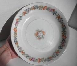 Vintage Narumi China Occupied Japan STRATFORD Flower Garden Coupe 7.5 So... - $10.84