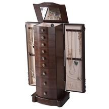 Giantex Wood Jewelry Cabinet Armoire Box Storag... - $253.70