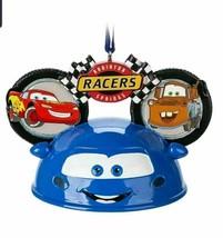 NWT Disney Parks Cars Land Radiator Springs Light Up Ear Hat Holiday Orn... - $29.69