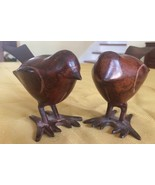 LOVELY pair of collectible METAL BIRD STATUES - $18.50