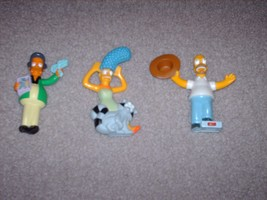 The Simpsons Burger King Character Figurines - $14.99