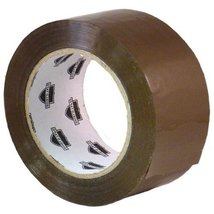 "6 Rolls 3"" x 110 Yards Tan Hotmelt Packing Tape... - $29.35"
