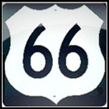 Metal Us Highway Miniature Traffic Sign - $4.95
