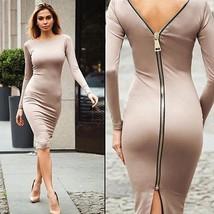 Dress Autumn Fashion Women Long Winter Sleeve Casual 2016 New Party Slim... - $11.99