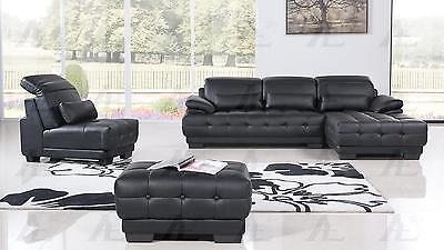 American Eagle AE-L296 Seactional Sofa Living Room Set Right Modern PU 4pcs