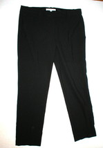 New NWT Womens Designer Trina Turk Black Pants Slacks 12 Aubree Office U... - $177.75