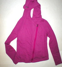 NWT Womens M New Under Armour Studio Pink Urban Uptown Jacket Thumbholes... - $44.55