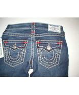New Womens True Religion Brand Jeans Dark Blue 26 NWT Super T Skinny Fla... - $272.00