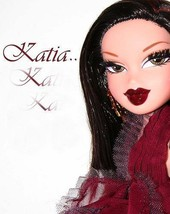 BRATZ HOLIDAY~EXCLUSIVE KATIA~MATCHING ORNAMENT~MGA FASHION DOLL~2005~MI... - $28.04