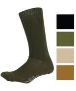Tactical Cushion Sole Socks US Made GI Wool Nylon Cotton Military Combat... - $8.99