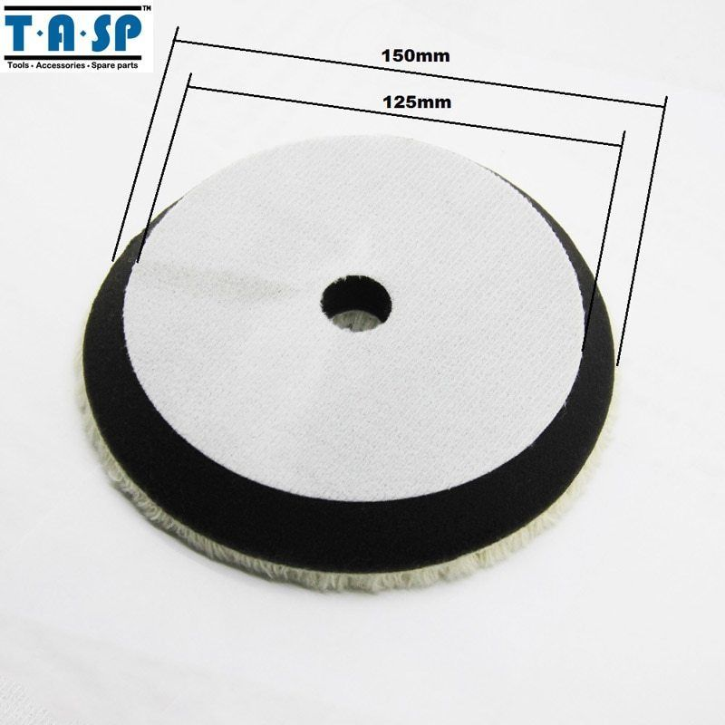 Primary image for TASP® 150mm Twisted Wool Polishing Buffing Pads For Car Polishing