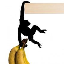 Home Decors Metal Hooks Hangers Original Design Funky Chimp Monkey Cat p... - $21.22