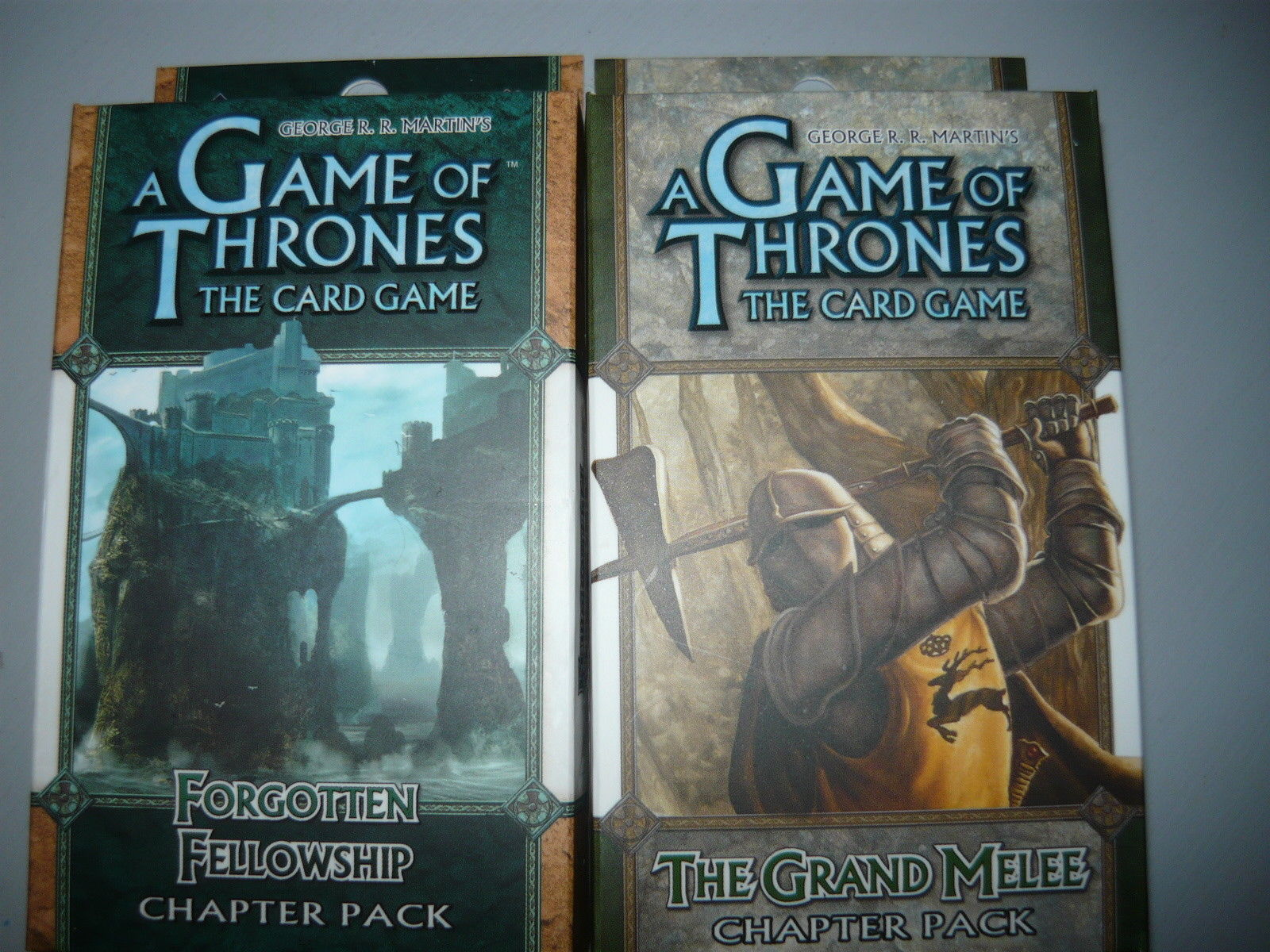 A Game of Thrones chapter pack lot of 2 forgotten fellowship the grand melee